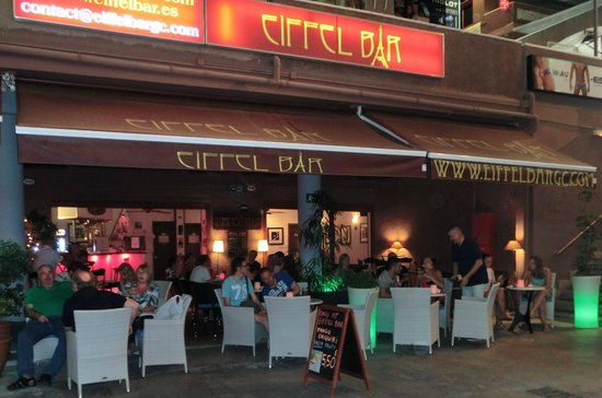 Eiffel Bar in Playa del Ingles