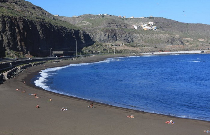La Laja Beach in Las Palmas