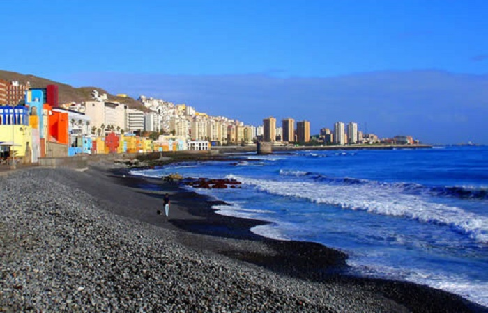 San Cristobal beach in Las Palmas