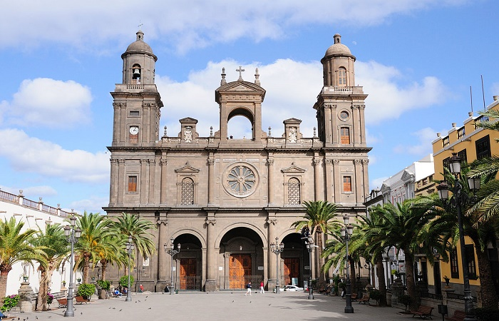 The old town in Las Palmas