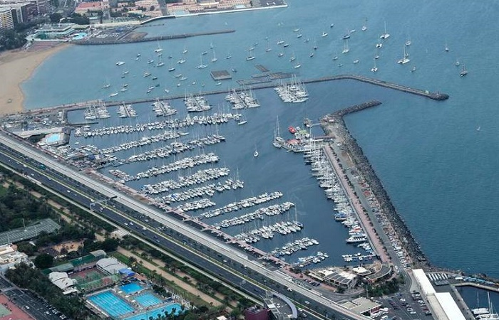 The Harbor in Las Palmas