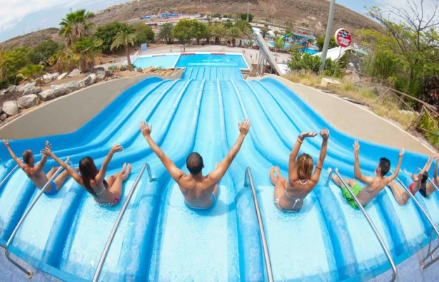 Aqualand Swimming Park in Maspalomas