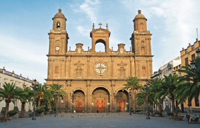 Santa Ana Cathedral in Las Palmas